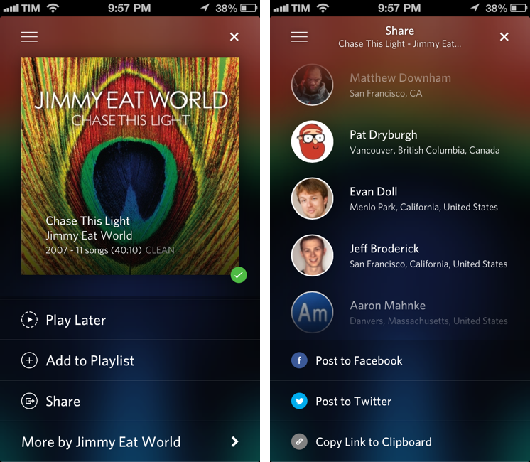 rdio macstories part 2 rdio update brings modern interface 746x650