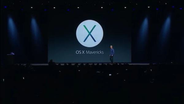 Apple Introduces OS X Mavericks